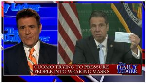 Incompetent Cuomo Pressuring the People to Wear Masks