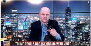 President Trump Trolls Barack Obama with BRUTAL Video Compilation of Biden's Corruption and Gaffes