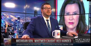 Governor Whitmer Caught Redhanded!  Shows She Is A Hypocrite!