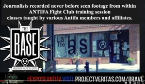 "BREAKING VIDEO:  Antifa Undercover Video From Project Veritas.  Antifa Instructing How To Hurt/Kill People.  PART II: NYC Fight Club Training ""Break one of the floating ribs…"""