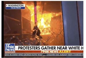 Rioters Burn Historic Church Across From White House, CNN Host Falsely Claims It Didn't Happen