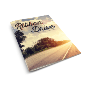 A mockup of the Ribbon Drive booklet.