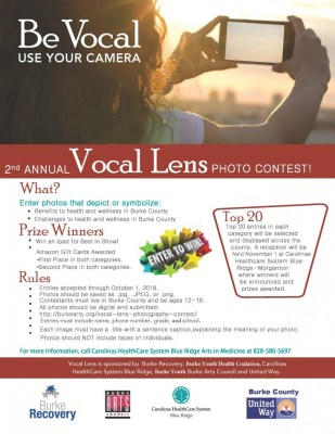 The 2nd Annual VOCAL LENS PHOTOGRAPHY COMPETITION | Burke