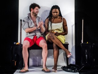 Benjamin Blais & Khadijah Roberts-Abdullah. Photo by John Gundy