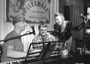 (Left to right) Donavon LeNabat, Jamie Bird, Jenna Warriner