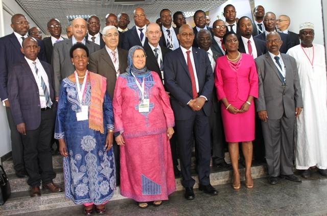 Deux commissaires de l'Union africaine, des dames, étaient de l'ouverture de la première semaine du PIDA