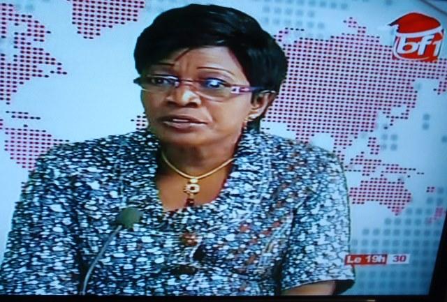 Nathalie Somé a dressé un bilan satisfaisant de la couverture médiatique des élections du 29 novembre