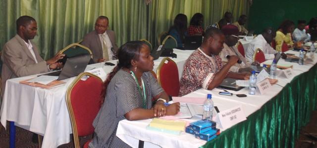 Les participants au présent atelier viennent du Mali, du Niger et du Burkina Faso