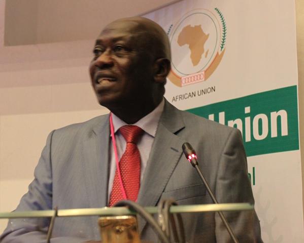 Aboubakari Baba Moussa, directeur des infrastructures et de l'énergie de l'UA, lors de la première semaine du PIDA