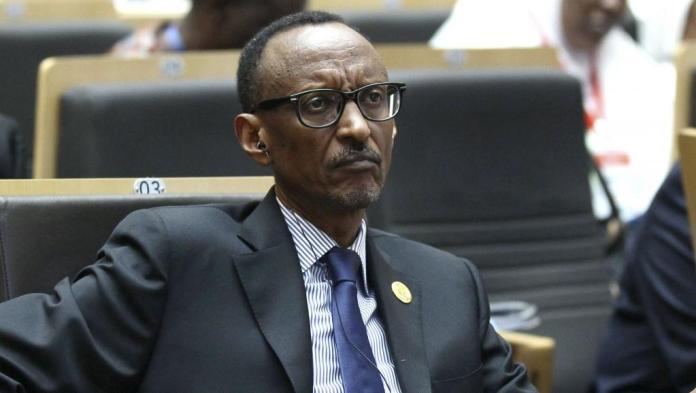 Le président Paul Kagamé