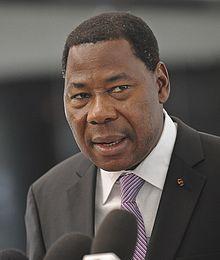 Yayi Boni, président en exercice des chefs d'Etat de l'UEMOA