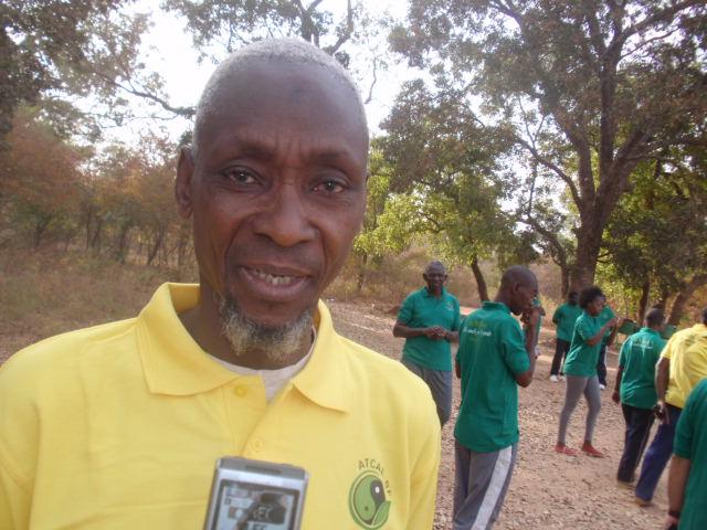 Adama Traoré, directeur technique de l'ACATCAE/BF: «Nous sommes satisfait du stage»