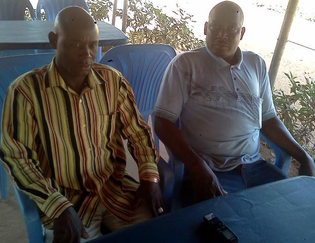 Les deux Adjima Thiombiano lors de l'entretien