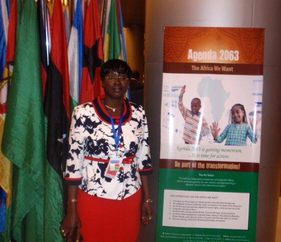 Laure Zongo est satisfaite de sa participation au 26e sommet de l'Union africaine