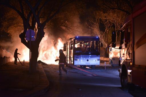 Ankara est encore en flammes