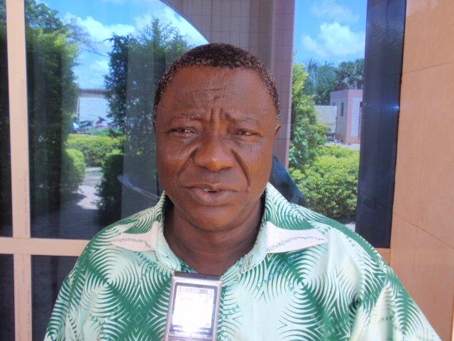 Dr Hubert NDIAFFA, UICN PACO, participant