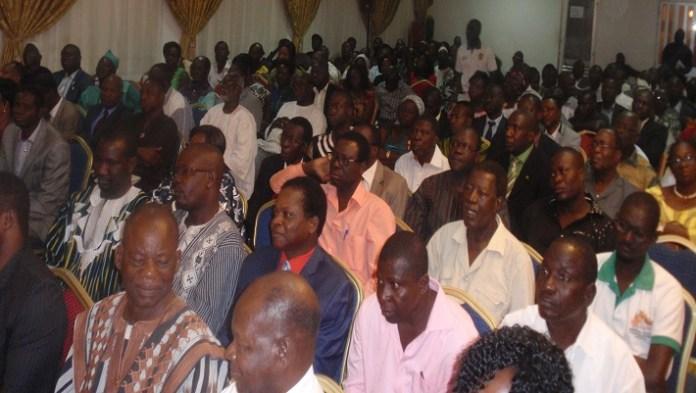 Du beau monde a assisté à l'ouverture des présentes journées parlementaires UPC