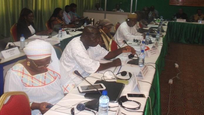 La présente réunion statutaire du GWP-AO regroupe des membres du comité de pilotage et les représentants des 13 partenariats nationaux de l'eau