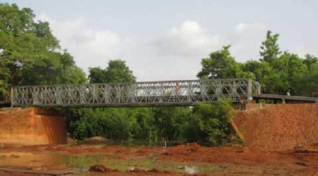 C'est dans les environs de ce pont que des assaillants ont été neutralisés