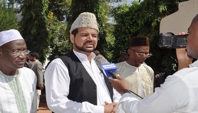 Le chef de la communauté islamique Ahmadiyya au Burkina