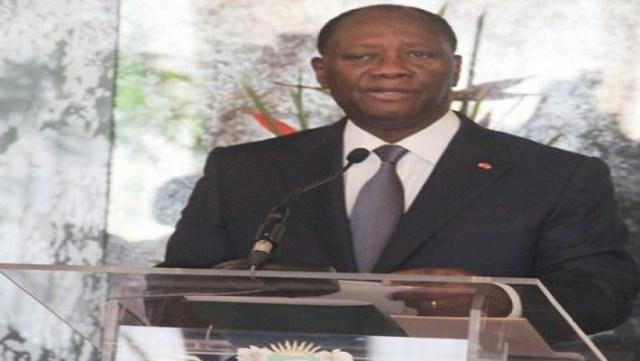 Le président Alassane Ouattara solidaire du peuple burkinabè avec la tragédie de Nassombou