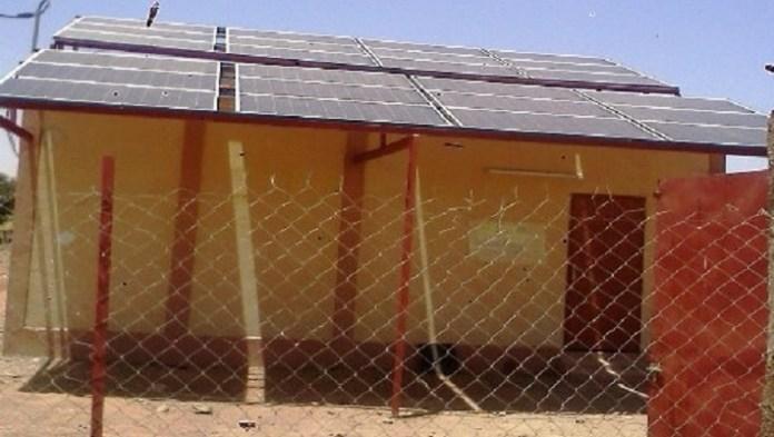 L'une des centrales solaires inaugurées