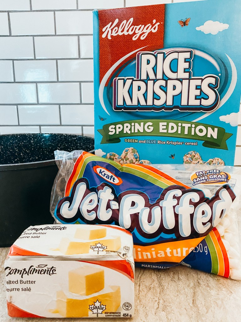 Brown Butter Rice Krispies Treats - Burk & Co.