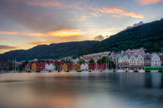 Bryggen, Bergen, Norway