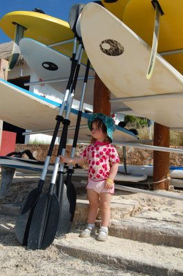 Ready to row, Cancun