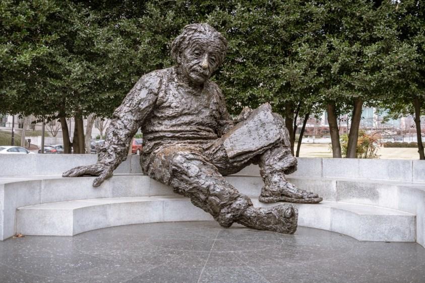 Albert Einstein Memorial, Washington, DC