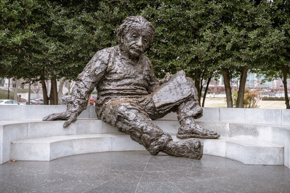 Albert Einstein Memorial, Washington, DC