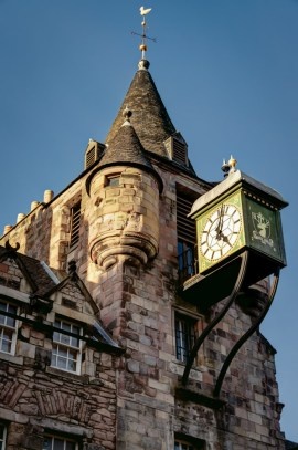 Canongate Tolbooth, Edinburgh, Scotland