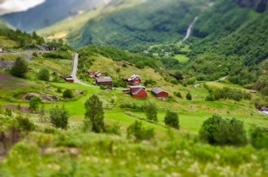 On Flåm Railway, Norway