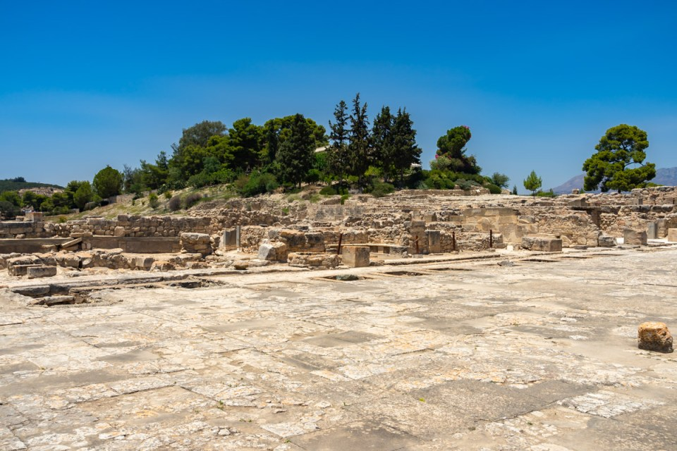 Faistos Palace, Crete
