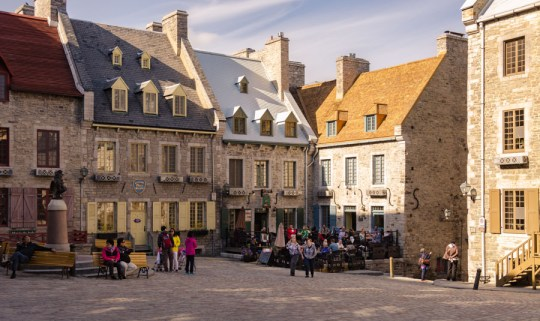 On Place Royal, Quebec City