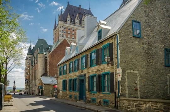 Rue Saint-Louis, Quebec City