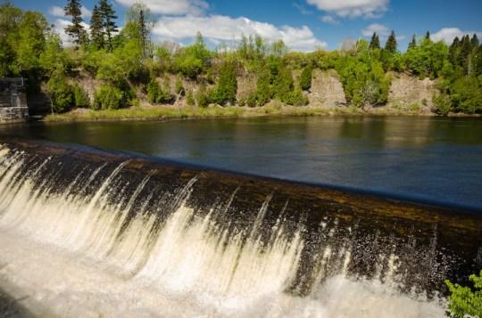 Montmorency Falls, near Quebec City
