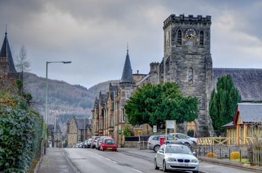 Town of Birnam, Perthshire, Scotland