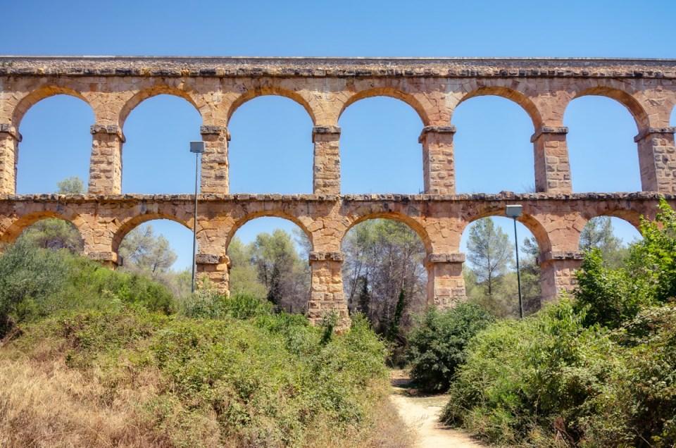 Ponte del Diablo, Tarragona, Catalonia, Spain
