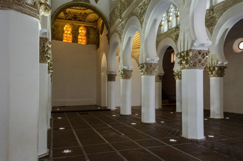 Sinagoga Santa Maria La Blanca, Toledo, Spain