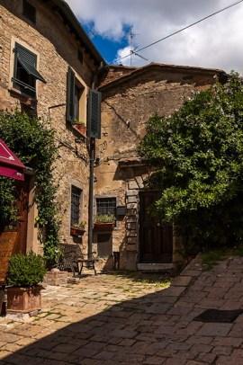 A cute corner of Volterra