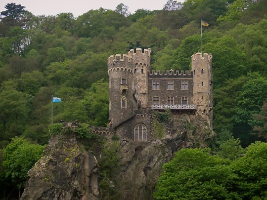 Burg Rheinstein, Rhine Valley, Germany