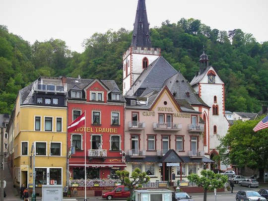 St Goar, Rhine Valley, Germany
