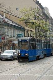 Cracow streetcar