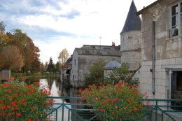 A corner of Loches, Loire Valley
