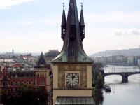 Spires of Prague - Clocktower
