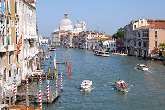 View from Accademia Bridge, Venice