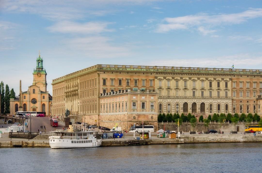 Royal Palace and Storkyrkan