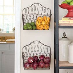 wire racks kitchen