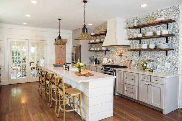 Fixer Upper Kitchens & Living Spaces